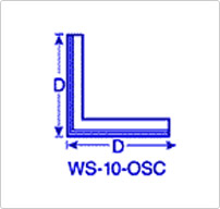 Straight Angle Strip Wiper Outside Corner (OSC)